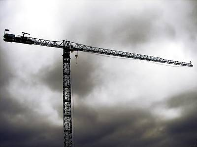 Tower Crane Digital Art - Towering 6 by Wendy J St Christopher