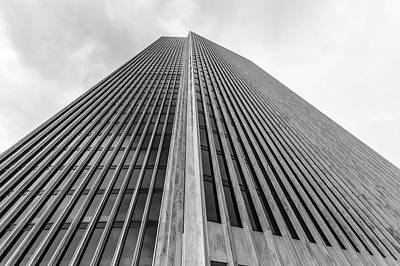 Photograph - Towering Agency Tower by Ray Sheley