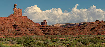 Photograph - Towering Clouds And Towering Rocks by Loree Johnson
