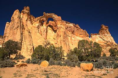 Photograph - Towering Grosvenor Arch by Adam Jewell
