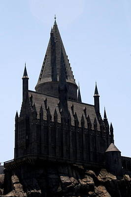 Photograph - Towering Hogwarts by David Nicholls