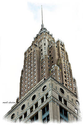 Photograph - Towering by Mark Alesse