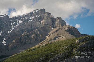 Photograph - Towering Mount Norquay Banff by Mike Reid