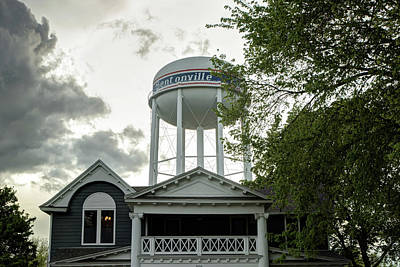 Photograph - Towering Over Downtown Bentonville - Northwest Arkansas by Gregory Ballos