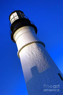 Towering Portland Head Light Art Print