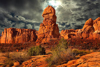 Photograph - Towering Rock by Harry Spitz