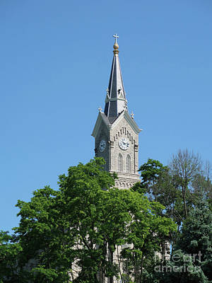 Photograph - Towering Steeple by Ann Horn
