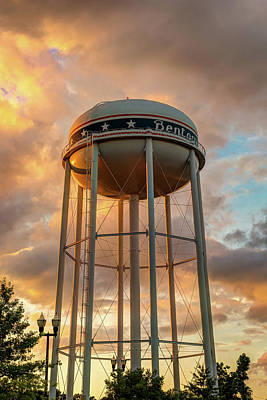 Photograph - Towering Sunset - Bentonville Arkansas Usa by Gregory Ballos