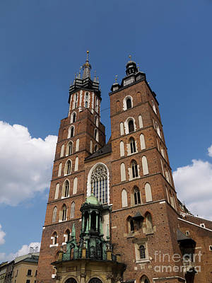 Photograph - Magnificent Mariacki Basilica by Brenda Kean