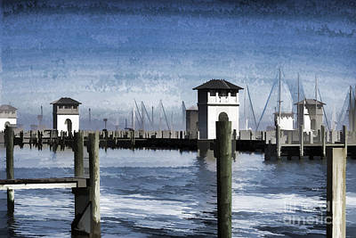 Photograph - Towers And Masts by Roberta Byram