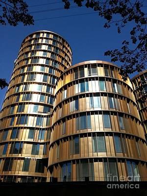 Photograph - Towers In Copenhagen by Susanne Baumann