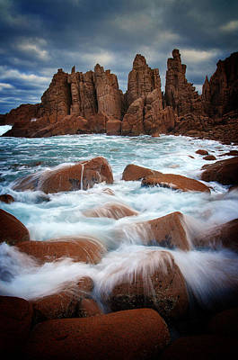 Photograph - Towers In The Sea by Tim Nichols