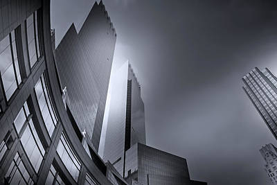 Photograph - Towers by Mark Andrew Thomas
