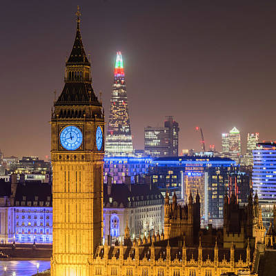 Photograph - Towers Of London by Stewart Marsden