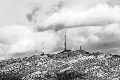 Photograph - Towers Of Mount Franklin El Paso by SR Green