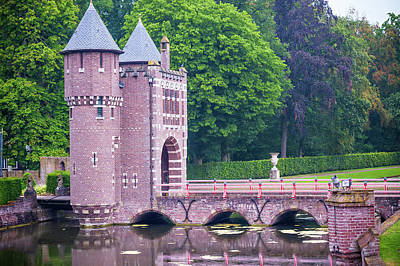 Photograph - Towers Of The Bridge. De Haar Castle by Jenny Rainbow