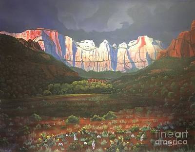 Towers Of The Virgin Zion Original