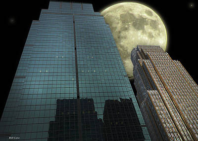 Photograph - Towers To The Moon by Bill Lere