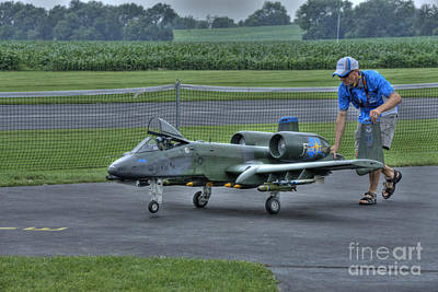 Photograph - Towing The A10 Warthog by David Bearden