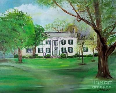 Town And Country Farm Lexington Art Print by Lynda McDonald