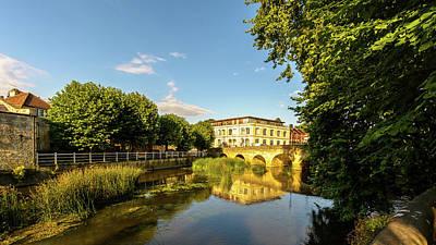 Photograph - Town Bridge A Across River Avon In Bradford-on-avon by Jacek Wojnarowski