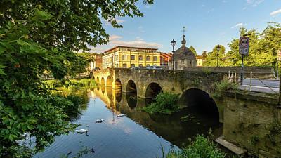 Photograph - Town Bridge B Across River Avon In Bradford-on-avon by Jacek Wojnarowski