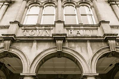 Photograph - Town Hall, Arch And Windows by Jacek Wojnarowski