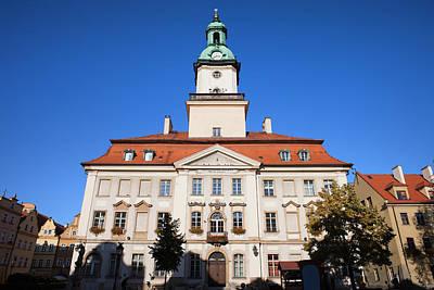 Town Hall In Jelenia Gora Art Print by Artur Bogacki