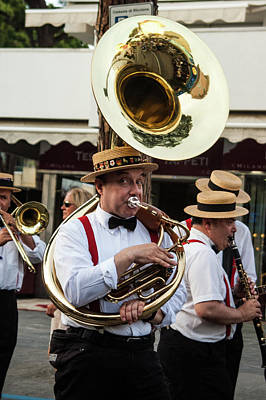 Photograph - Town In A Tuba by Alex Lapidus