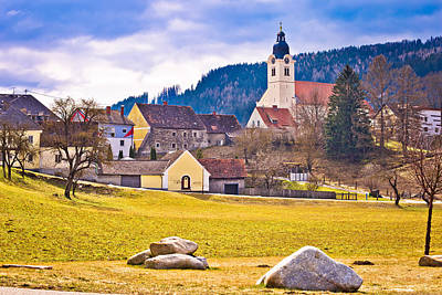Photograph - Town Of Bad Sankt Leonhard  by Brch Photography