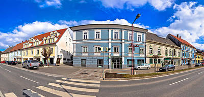 Photograph - Town Of Bad Sankt Leonhard Im Lavanttal Center Panorama, Carinth by Brch Photography