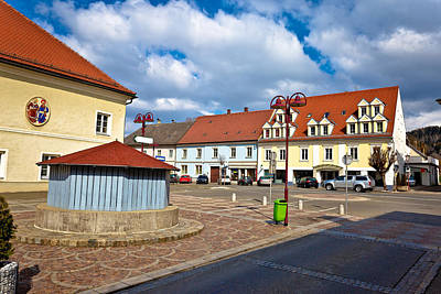 Photograph - Town Of Bad Sankt Leonhard Im Lavanttal  by Brch Photography