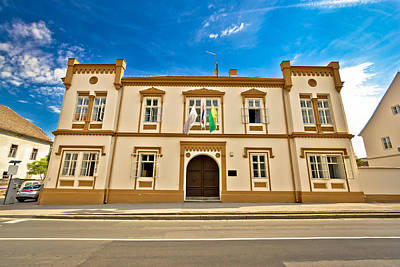 Photograph - Town Of Bjelovar City Hall by Brch Photography