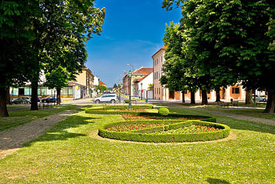 Photograph - Town Of Bjelovar Park And Square by Brch Photography