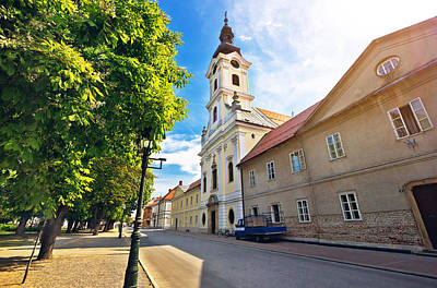 Photograph - Town Of Bjelovar Square View by Brch Photography