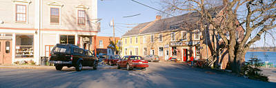 Town Of Castine, Mount Desert Island Art Print by Panoramic Images