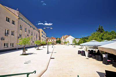 Photograph - Town Of Drnis Central Square View by Brch Photography