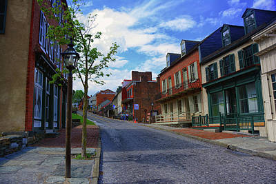 Photograph - Town Of Harpers Ferry West Virginia by Raymond Salani III