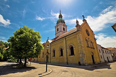 Photograph - Town Of Karlovac Church And Architecture by Brch Photography