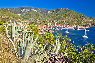 Photograph - Town Of Komiza On Vis Island by Brch Photography