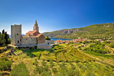 Photograph - Town Of Komiza On Vis Island View by Brch Photography