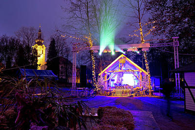 Photograph - Town Of Koprivnica Advent Park View by Brch Photography