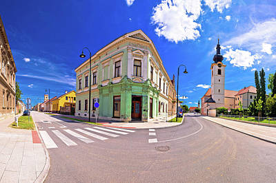 Photograph - Town Of Koprivnica Old Street View by Brch Photography