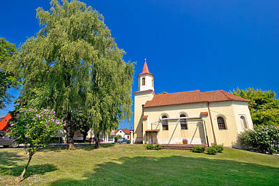 Photograph - Town Of Krizevci Saint Marko Church by Brch Photography