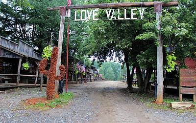 Photograph - Town Of Love Valley  by Cynthia Guinn