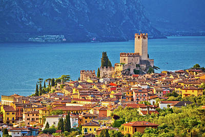 Photograph - Town Of Malcesine On Lago Di Garda by Brch Photography