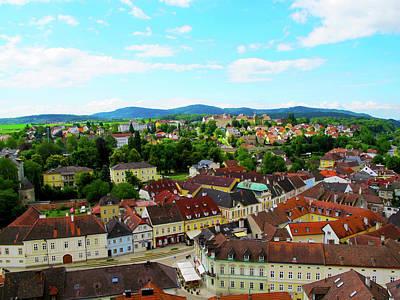 Photograph - Town Of Melk - Austria by Loretta Luglio