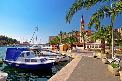 Photograph - Town Of Milna Waterfront And Marina View by Brch Photography