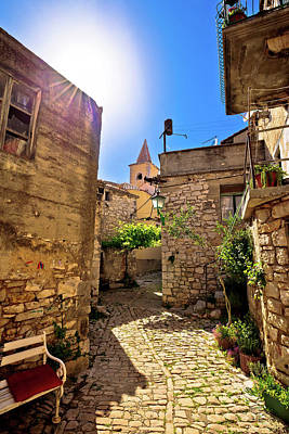 Photograph - Town Of Pirovac Old Stone Street by Brch Photography