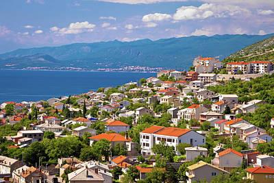 Photograph - Town Of Senj And Novi Vinodolski View by Brch Photography